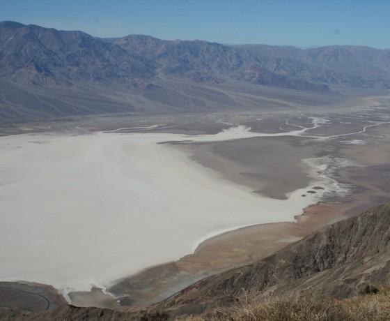 Voyage vélo route nevada death valley États-Unis