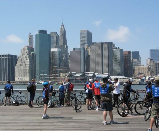 Voyage vélo route Montréal New York cyclotourisme