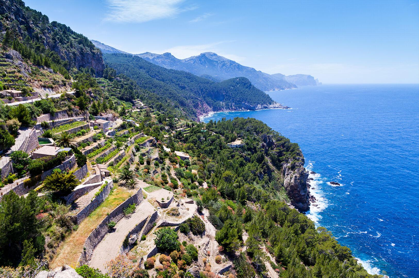Majorque Photos pour voyage vélo route majorque