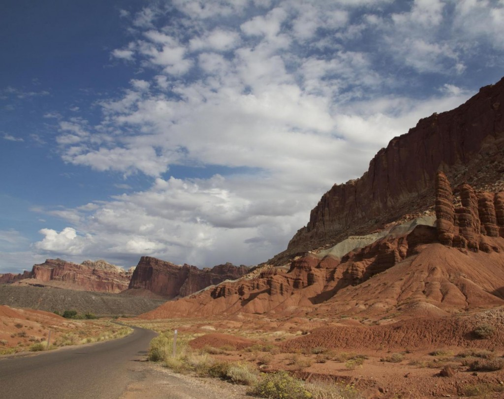 Voyage vélo route Utah road Trip États-Unis vélo