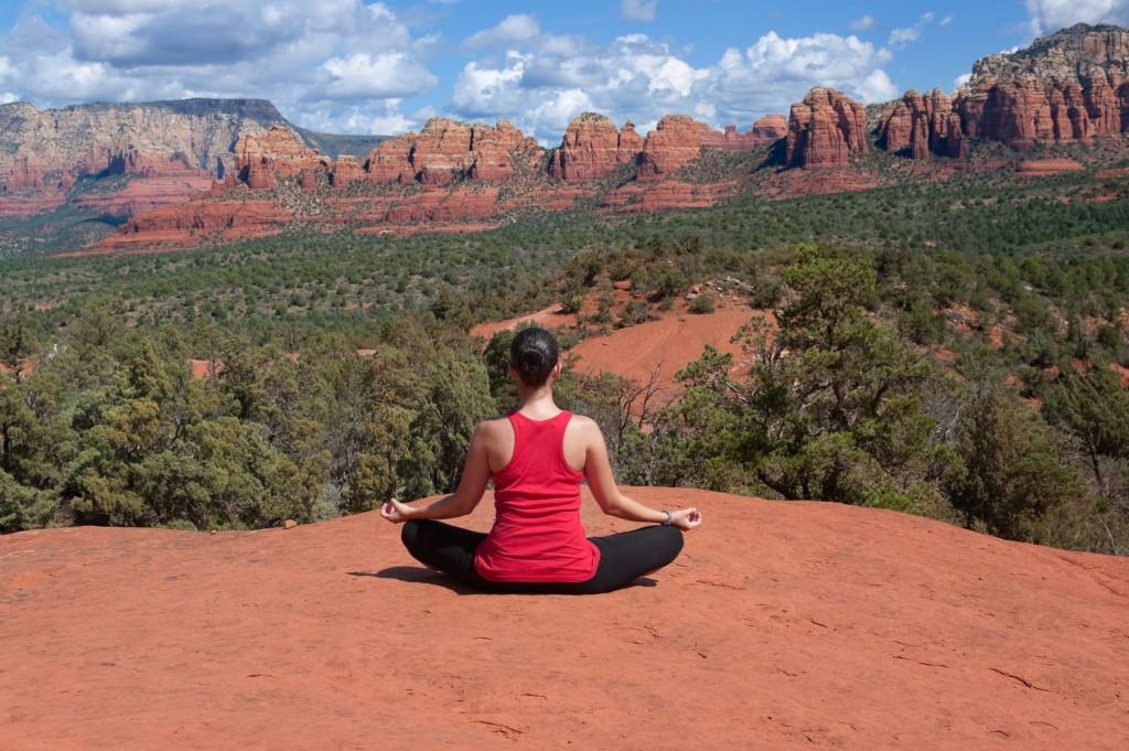 Vélo-yoga Arizona - Sur La Route
